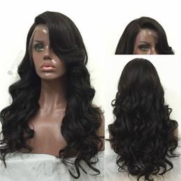 Silk Base Human Hair Wigs NZ - 8A Silk Top Full Lace Wigs Brazilian Virgin Hair Body Wave Glueless Silk Top Lace Front Wigs 100% Human Hair Silk Base Wig