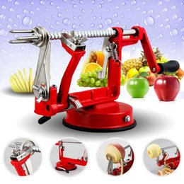 $enCountryForm.capitalKeyWord NZ - 3 in 1 Apple Peeler Slicing Stainless Steel Fruit Machine Peeled Tool Creative Home Kitchen Vegetable Potato Slicer Cutter Bar