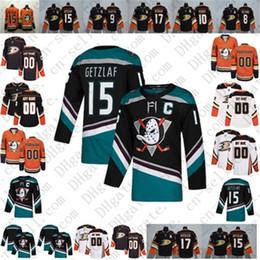 181145c9c 2019 Anaheim Ducks 25th Mighty Ducks Ryan Getzlaf Black Teal Corey Perry  Ryan Kesler Teemu Selanne Paul Kariya Hockey Jersey Men Women Youth