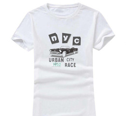 $enCountryForm.capitalKeyWord Australia - Nyc City 2017 New Clothes Fashion Women Men Cotton O Neck Short Sleeve Print Casual T-Shirts loose Personalized unique Tees Wholesale