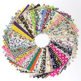 Pottery handmade online shopping - fabric craft x10cm Mixed Printed Handmade DIY Cotton Fabric Sewing Patchwork Fabrics Craft Apparel Sewing Supplies