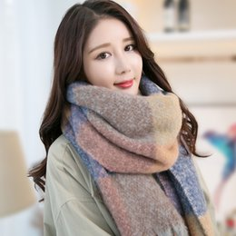$enCountryForm.capitalKeyWord NZ - New Thick Imitation Cashmere Scarf Neck Scarf Female Winter Students Korean Version Of The Thermal Cape Winter