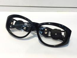 2ed583592c MOD424 Vintage Gafas Medusa Diseñador Gafas estilo Steampunk de  prescripción Hombres Marco sin montura Cara grande Destacan diseño