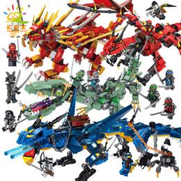$enCountryForm.capitalKeyWord UK - Phantom Ninja dragon 6 thunderstorm storm dragon 8 thunderbolt flame lion boy puzzle toy wholesale