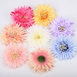 China Wholesales 7 Colors Fake Flowers Silk Floral Head Wedding Decoration Home Decor Real Touch Artificial Plants Centerpieces Flower Wall supplier chocolate touch suppliers