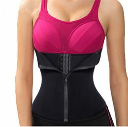 9439ec64d90 Bodysuit Women Slimming Zipper Waist Trainer Corsets Hot Shaper Body Shape  Belt Slimming Tummy Waist Cincher Tank Corrective Shapewear Hot