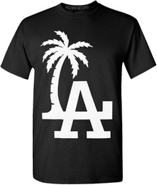 f07f09c68 Cheap Sale 100% Cotton T Shirts For Boys Graphic Crew Neck Mens California  republic LA Pam Tree graphic t-shirts Short Sleeve