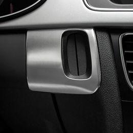 77bebc103697 Car Accessories Interior Car Keyhole Decorative Frame Cover Trim Stainless  Steel Car 3D Strip Sticker for Audi A5 A4 S4 09-15