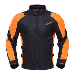 $enCountryForm.capitalKeyWord NZ - DUHAN Motorcycle Jacket motorbike Summer Body Armor Riding Off-Road Racing Sports Jacket Clothing With Five Protector