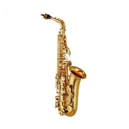China 2017 Hot SAX E flat alto saxophone music professional grade saxophone DHL   UPS shipping cheap professional alto sax suppliers