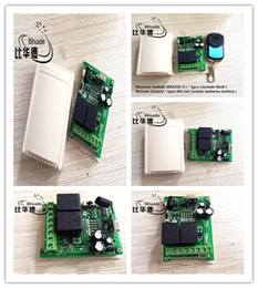 Wireless Motor Controller NZ - 315mhz Wireless Rf Switch Dc12v Relay Receiver Module And Remote Controls Motor Forward And Reverse Controller