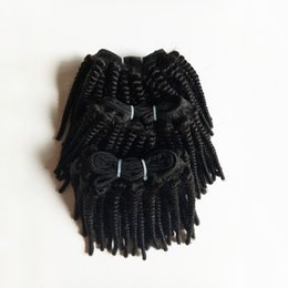 black weaves Canada - human Hair weave sexy hair extension best price African American Natural black Indian remy Human Hair double weft Direct Manufacturer
