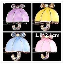 Dog Grooming Hair Clip Australia - 2018 New Dog Grooming Dripping flower umbrella Pet Clip Hair Accessories Fade Dripping Frog Clips Trinket Ornaments 6pcs lot