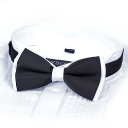 $enCountryForm.capitalKeyWord NZ - 2018 New Fashion Black and White Bowknot Formal Tie Men's Bowties for Boys Accessories Butterfly Cravat Bowtie Butterflies