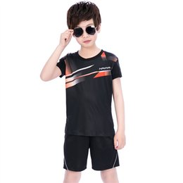 $enCountryForm.capitalKeyWord NZ - New NaiMai children's badminton wear suits boys girls table tennis clothing short-sleeved quick-drying tennis sports summer uniforms Suits