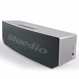 Discount 3d stereo sound - 2017 new item Bluedio BS-5 (Camel) Mini Bluetooth speaker Portable Wireless Loudspeaker Sound System 3D stereo Music sur