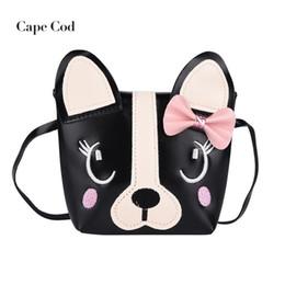 4feade3f394 Girl s Bowknot Cartoon Lovely Kids Shoulder Bag PU Leather Messenger Casual  Tote Small Crossbody Handbag Mini Flap Purse Gift
