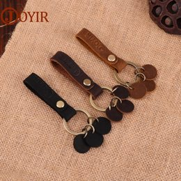 Tool Wallets NZ - JOYIR Fashion Key Holder Genuine Leather Key Chain Multifunctional Tool Small Ring Man Women Holder Gift K036