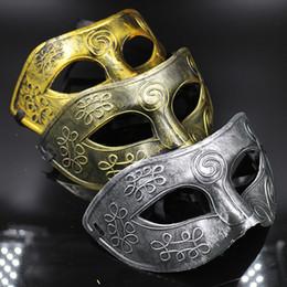 $enCountryForm.capitalKeyWord NZ - New Funny Toys Retro Greco-Roman Mens' Mask Masquerade Halloween Show Costume Party Half Face Masks Men's Half-face Flat Jazz Mask