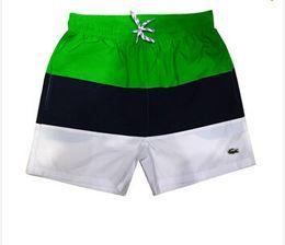 $enCountryForm.capitalKeyWord UK - 2019 Wholesale New Embroidery Board Shorts Men's Summer Beach Shorts Pants High Quality Swimwear Bermuda Men's Letter Surf Life Men's Swimmi