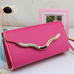 hot pink hand bags NZ - 042217 new hot women hand bag female fashion day clutch bag
