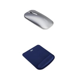 Discount wireless for laptop - Wireless Mouse Super Mute Mice+ Smooth Comfort Mouse Pad Matt for Laptop