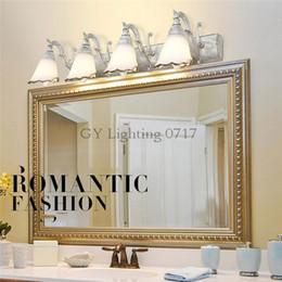 $enCountryForm.capitalKeyWord NZ - L16 30 46 64cm New Vintage E14 Wall Lamp Bathroom Lighting Mirror Light Makeup Vanity cabinet cream indoor wall sconces