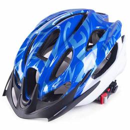 Discount 15 bike - 2018 Cycling integrally-molded Helmet Sports Safety Ultralight Bicycle helmet 15 Holes Adult Men bike Unisex Visor Cap