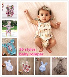 $enCountryForm.capitalKeyWord Canada - Ins newborn baby boy girl cotton romper onesies clothing clothes 36 styles jumpsuit flower animals tutu dress rompers wholesale kid todders