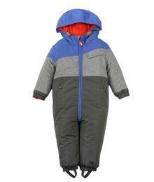 $enCountryForm.capitalKeyWord UK - Baby Outerwear Warm Skiing Rompers Thickened Kid Ski Jacket Boys Patchwork Windproof Coat Infant Boy Snowsuit Snow Wear