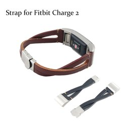 replacement leather strap NZ - Leather Replacement Band For Charge 2 Heart Rate Smart Wristband Bracelet Wearable Belt Strap For Charge 2 Band