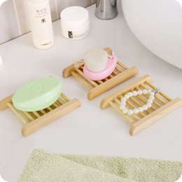 Hot disH Holder online shopping - Natural Wood Soap Tray Holder Dish Storage Bath Shower Plate Kitchen Home Bathroom Wash hot Soap Holder Storage Organizer