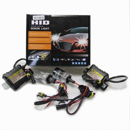Slim ballaSt hid converSion kit online shopping - DHL HID Xenon Kits Car Headlight Slim Ballast Xenon Bulb Ballast Conversion H1 H3 H7 H8 H9 H11 K