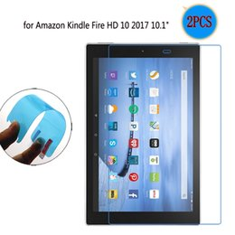 """tablet kindle hd 2019 - 2PCS Clear Soft TPU Nano-coated Tablet Screen Protector Protective Film For Amazon Kindle Fire HD 10 2017 10.1"""" che"""