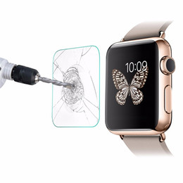 Real watches online shopping - Tempered Glass H Premium Explosion Real Guard Protective Screen Protector for Apple Watch iWatch Series mm mm Smart Sport