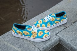 top version 17SS revenge Authentic flowers SHARK MOUTHS colorfull Peanuts Leopard Casual Shoes slip on Black Old Skool Outdoor Sneakers sale for nice find great clearance Cheapest TouxMEhkwS