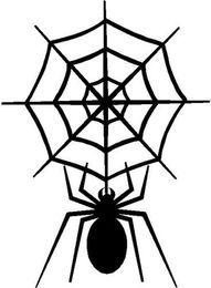 Discount decorated cars - Spider & Spider Web Car Sticker Vinyl Car Wrap Car Decor Decorating Silhouette Animal Pattern