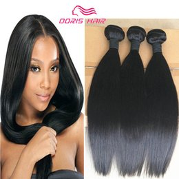 Discount highest quality unprocessed virgin hair - New arrival High quality Indian Human Hair weave 3 bundles silky straigh Unprocessed virgin hair weft weaving extension