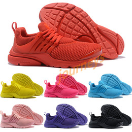 f388491d4192 New design Presto 5 Pure black Yellow gray White Casual running shoes For men  women Top Quality Outdoor Sneakers Size 36-45