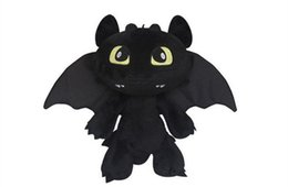 $enCountryForm.capitalKeyWord UK - Height 30CM Children Plush Toys How to Train Your Dragon Plush Toothless Night Fury Soft Toy gift New DDF