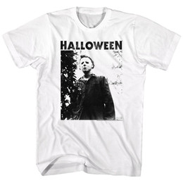Men S Big Watch Australia - HALLOWEEN Men's Short Sleeve T-Shirt WHITE WATCHING BIG TITLE S - 3XL summer Hot Sale New Tee Print Men T-Shirt Top 100% cotton