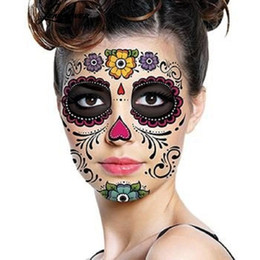 $enCountryForm.capitalKeyWord UK - Disposable Eyeshadow Sticker Magic Eye Face Lace Style Waterproof Temporary Tattoo For Beauty Makup Stage Halloween Party 2000pcs
