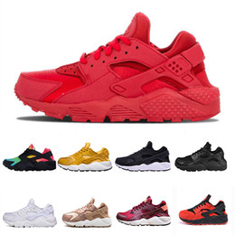 18174a201ff79 Air Huarache 1.0 Classic Ultra Running Shoes for Men Women Designer  Huaraches Maxes Shoes Red White Black Jogging Sports Sneakers 36-45