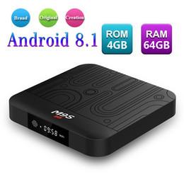 Android smArt tv box dhl online shopping - 4GB RAM GB EMMC GB Android Box Rockchip RK3328 M9S J1 Android TV Box WiFi Bluetooth M Lan Digital Display Smart Tv Box Free DHL