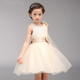 Shop cheap new baby girl dresses uk cheap new baby girl dresses 2018 new cheap champagne flower girl dresses baby pageant birthday party dress zipper tulle first communion gown pink flower girls dress mightylinksfo