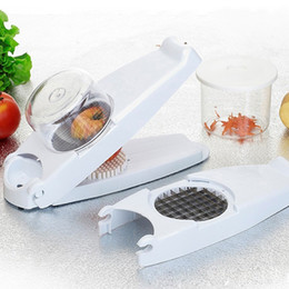 $enCountryForm.capitalKeyWord NZ - Multi -Function Fruit Vegetable Shredder Cooking French Fry Potato Strip Cutter Kitchen Tools Device Blades Potato Mashers Ricers