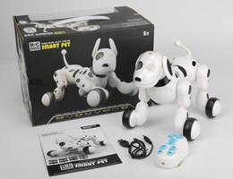 $enCountryForm.capitalKeyWord Canada - Wireless Remote Control Intelligent Robot Dog RC smart Dancing Walking dog Electronic Dog R C Smart Pet Free shipping