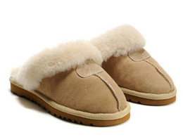 Home plusH slippers online shopping - High quality Australia explosions WGG Snow boots home non slip slippers Cotton boots men and women indoor and outdoor warm Slippers