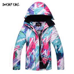 snowboard ski jackets 2019 - Free Shipping Women Snowboarding Jackets Winter Waterproof Solid Thick Indumentaria Snowboard Jacket Skiing Cloth h200 c