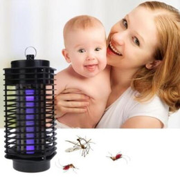 Modern electric online shopping - Modern Design EU US Plug Bug Zapper Mosquito Insect Killer Lamp Electric Pest Moth Wasp Fly Mosquito Killer V V CCA9973